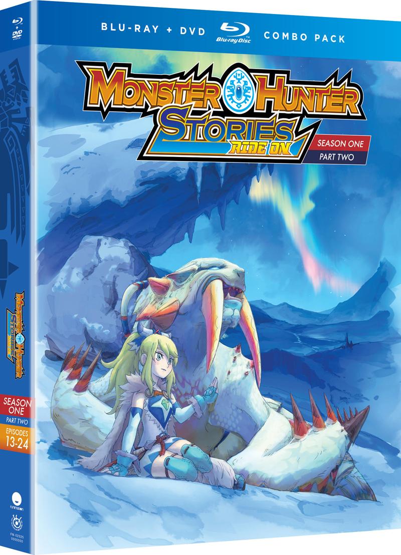 Monster Hunter Stories Ride On Season 1 Part 2 Blu-ray/DVD
