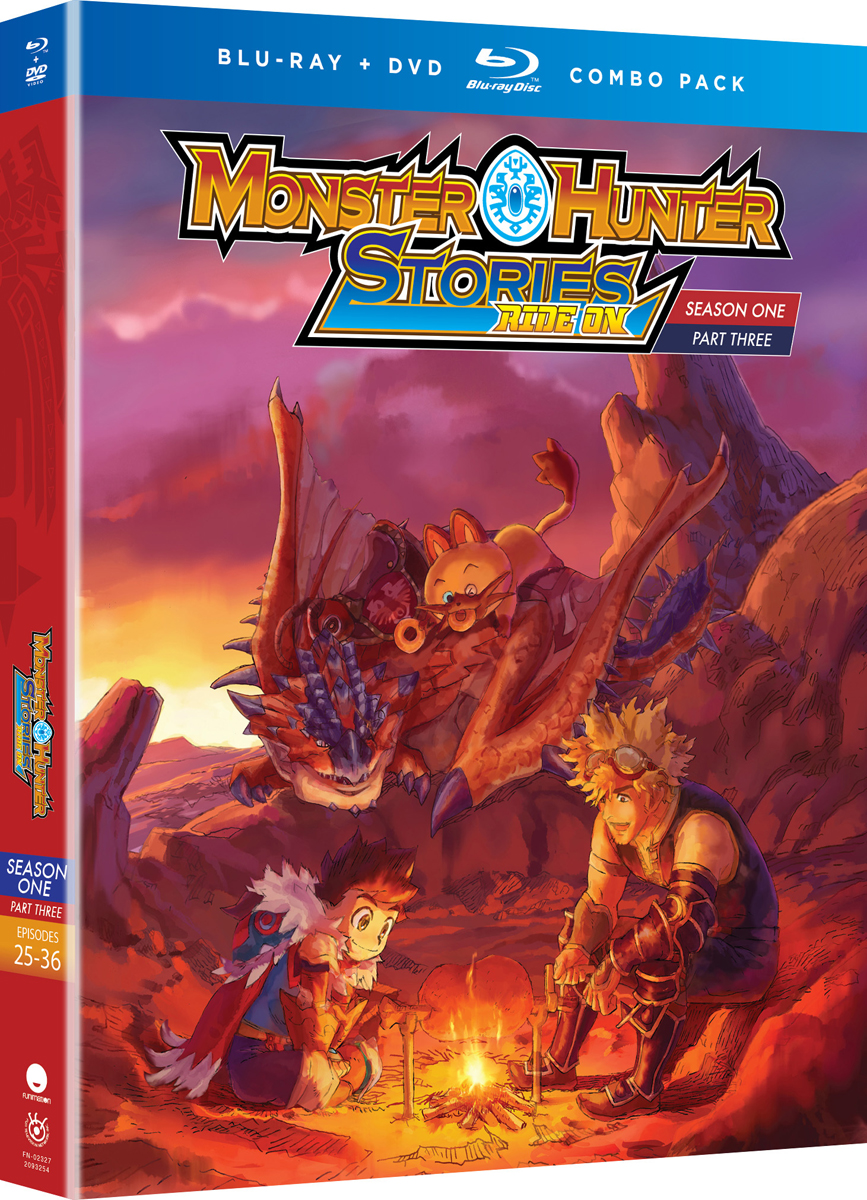 Monster Hunter Stories Ride On Season 1 Part 3 Blu-ray/DVD
