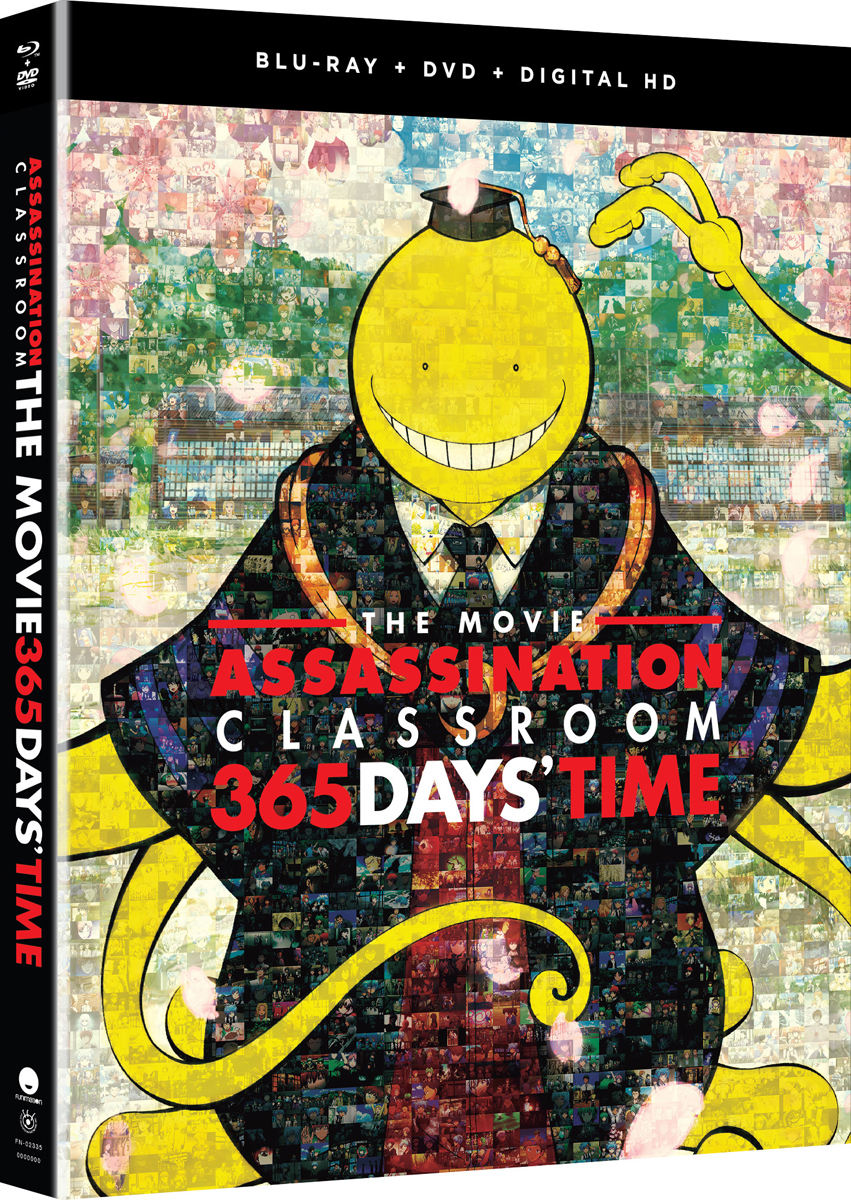 Assassination Classroom the Movie 365 Days' Time Blu-ray/DVD 704400023354
