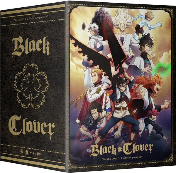 Black Clover Season 2 Part 3 Collector's Box Blu-ray/DVD