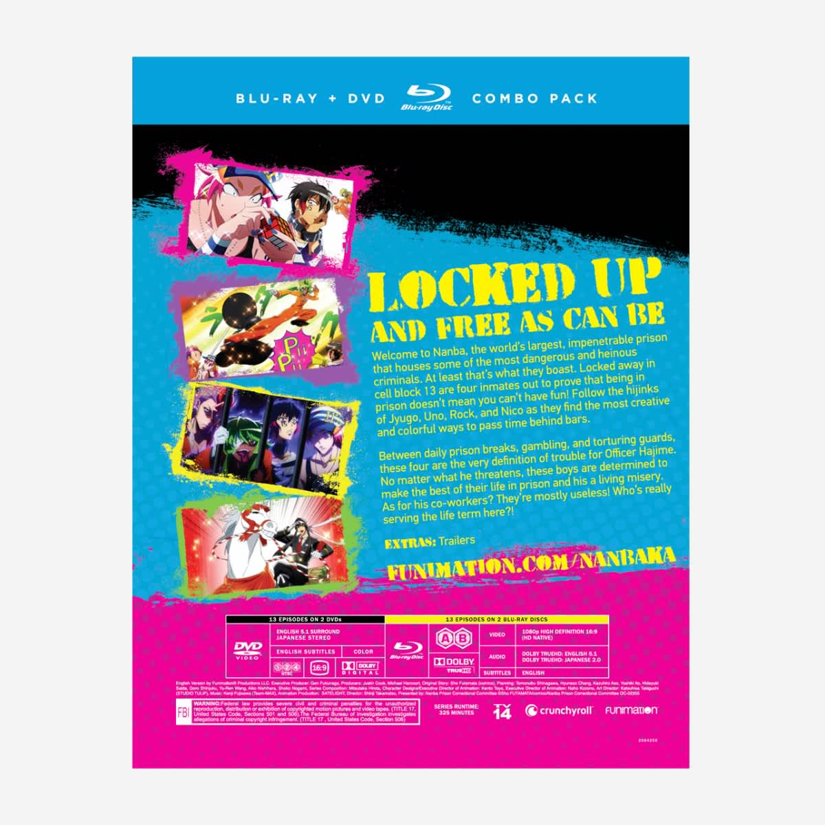 Nanbaka Part 1 Blu-Ray/DVD