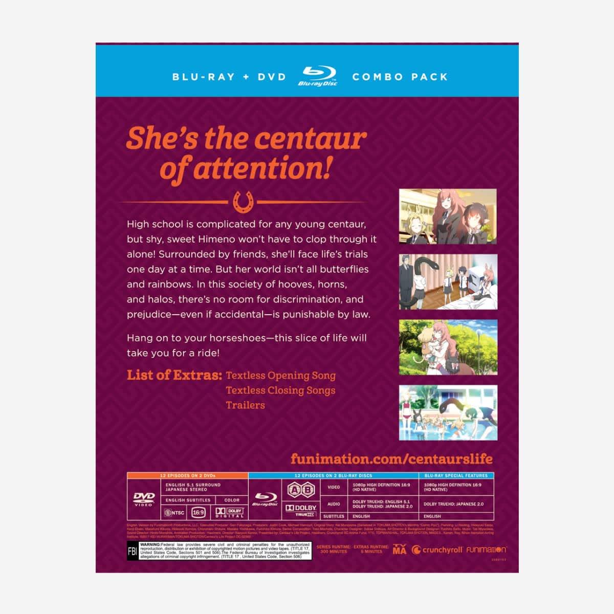 A Centaur's Life Blu-ray/DVD