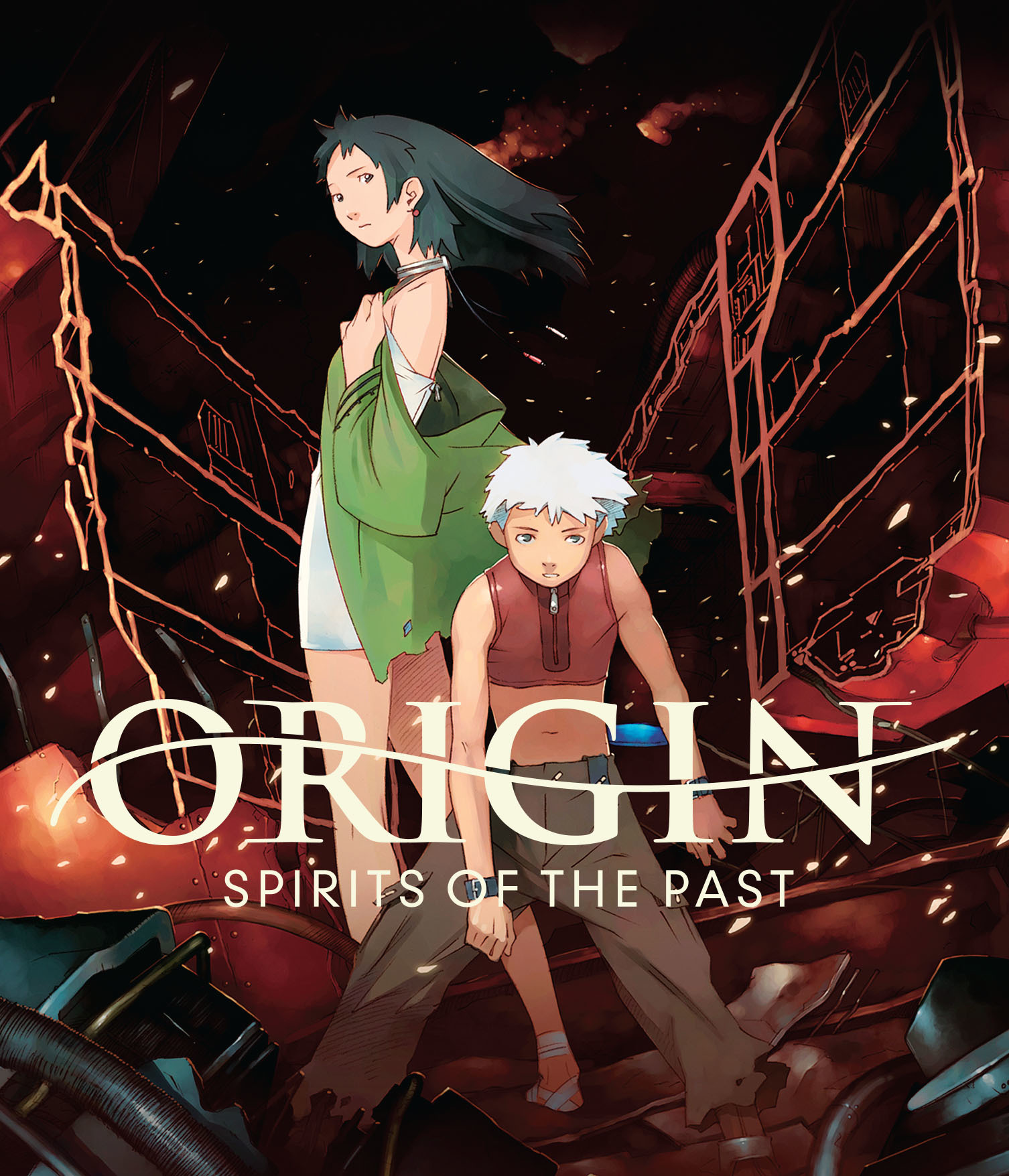 Origin Spirits of the Past Blu-ray/DVD 704400023712