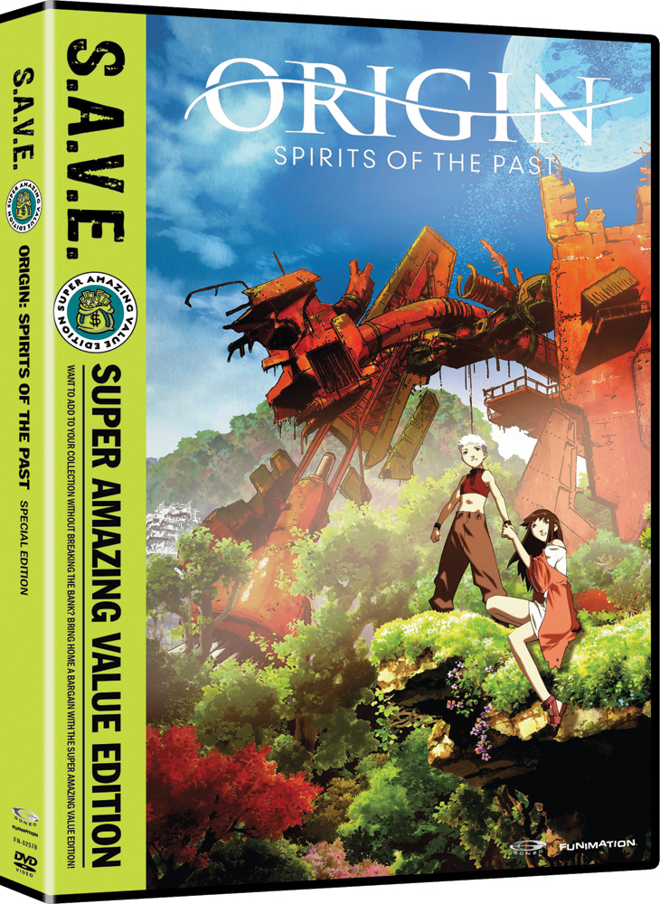Origin Spirits of the Past DVD S.A.V.E. Edition 704400023781