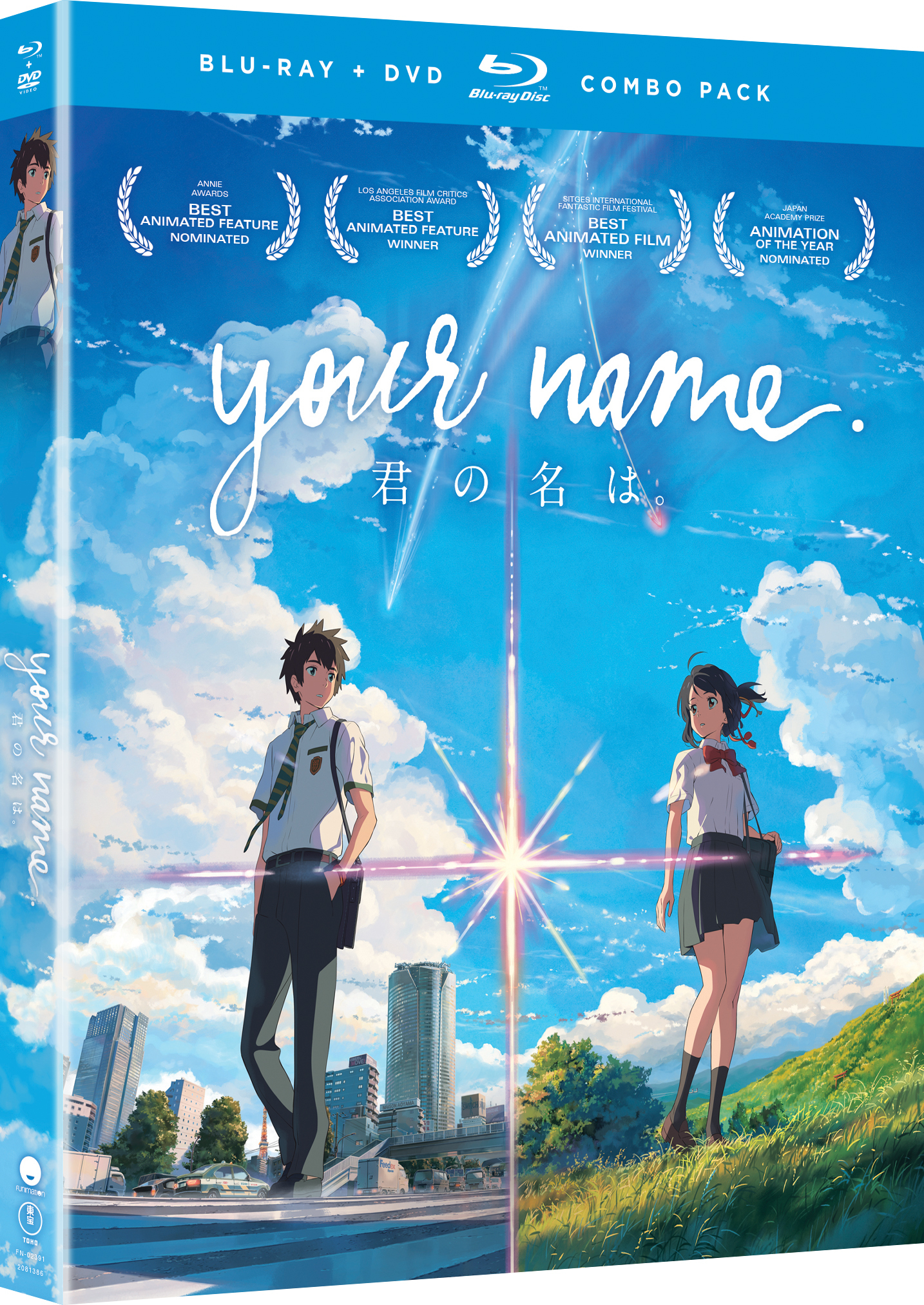 Your Name Blu-ray/DVD 704400023910
