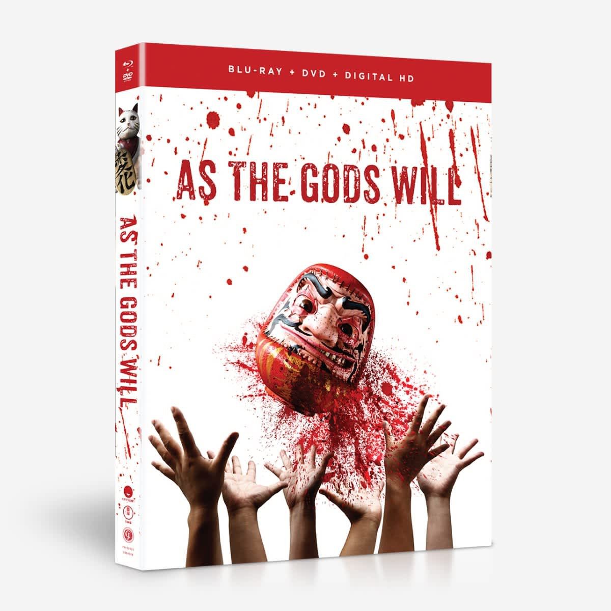 As the Gods Will Blu-ray/DVD 704400024054