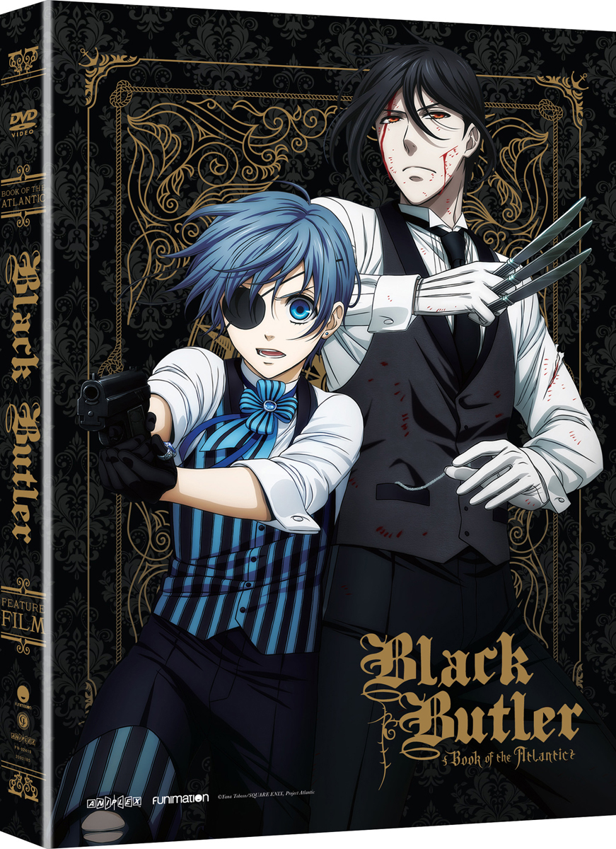 Black Butler Book of the Atlantic Movie DVD
