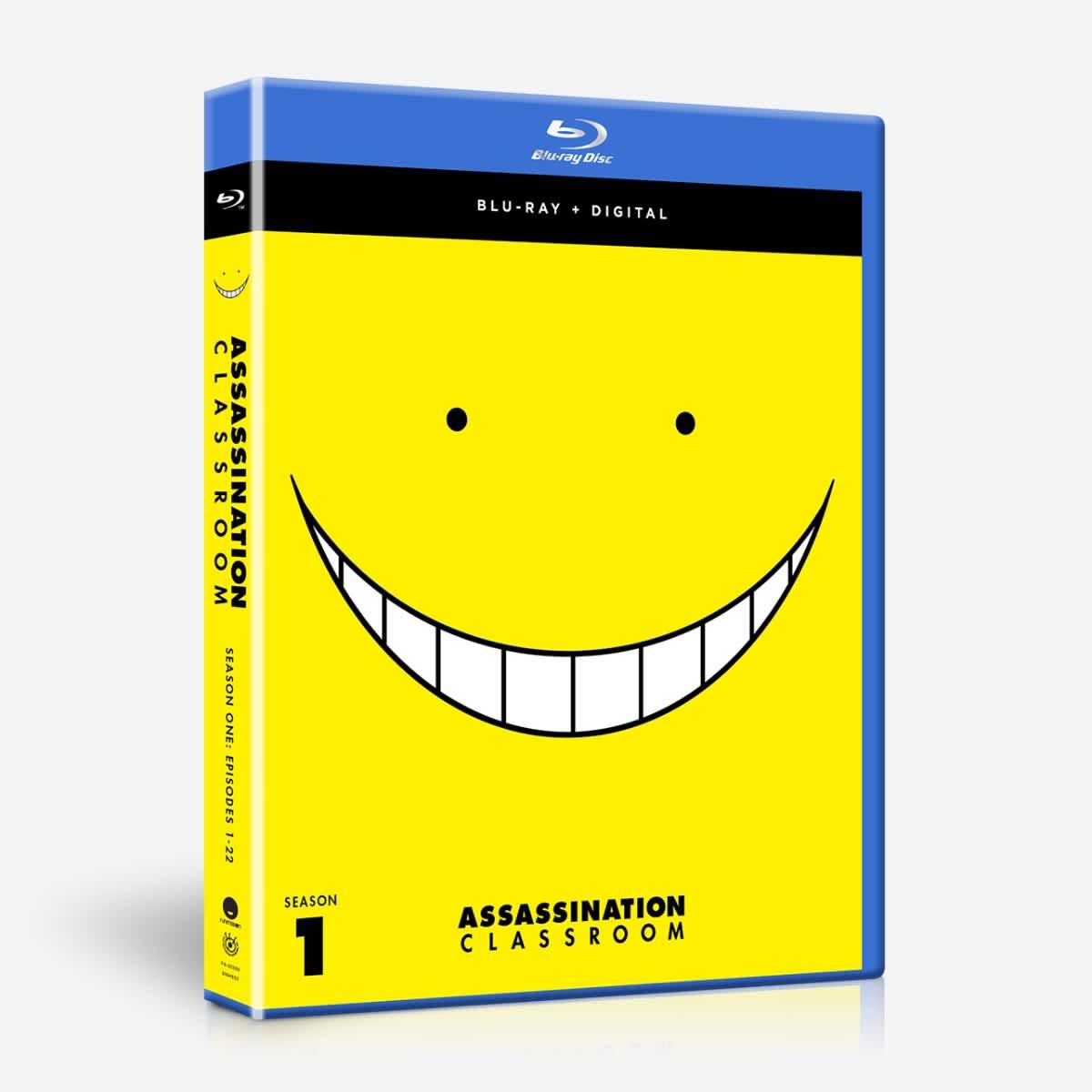 Assassination Classroom Season 1 Blu-ray 704400025006