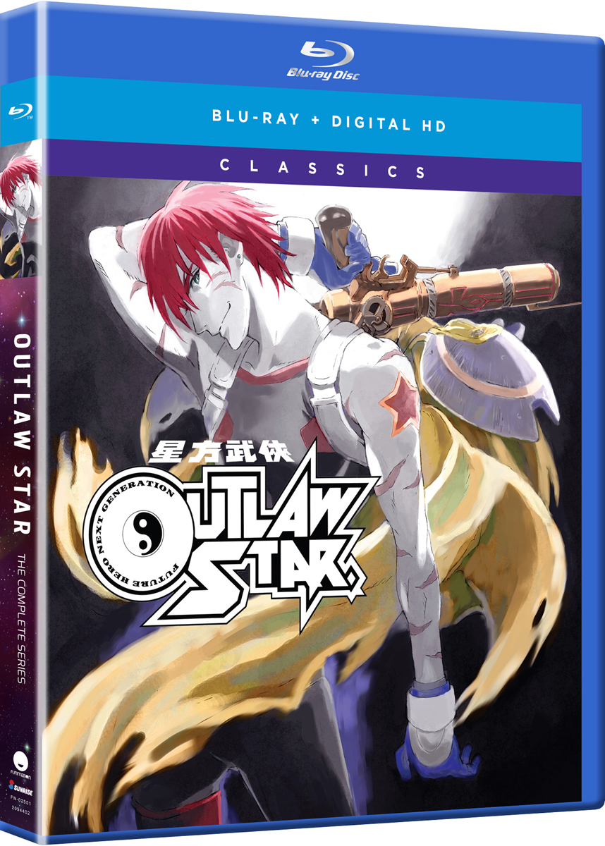Outlaw Star Classics Blu-ray 704400025013