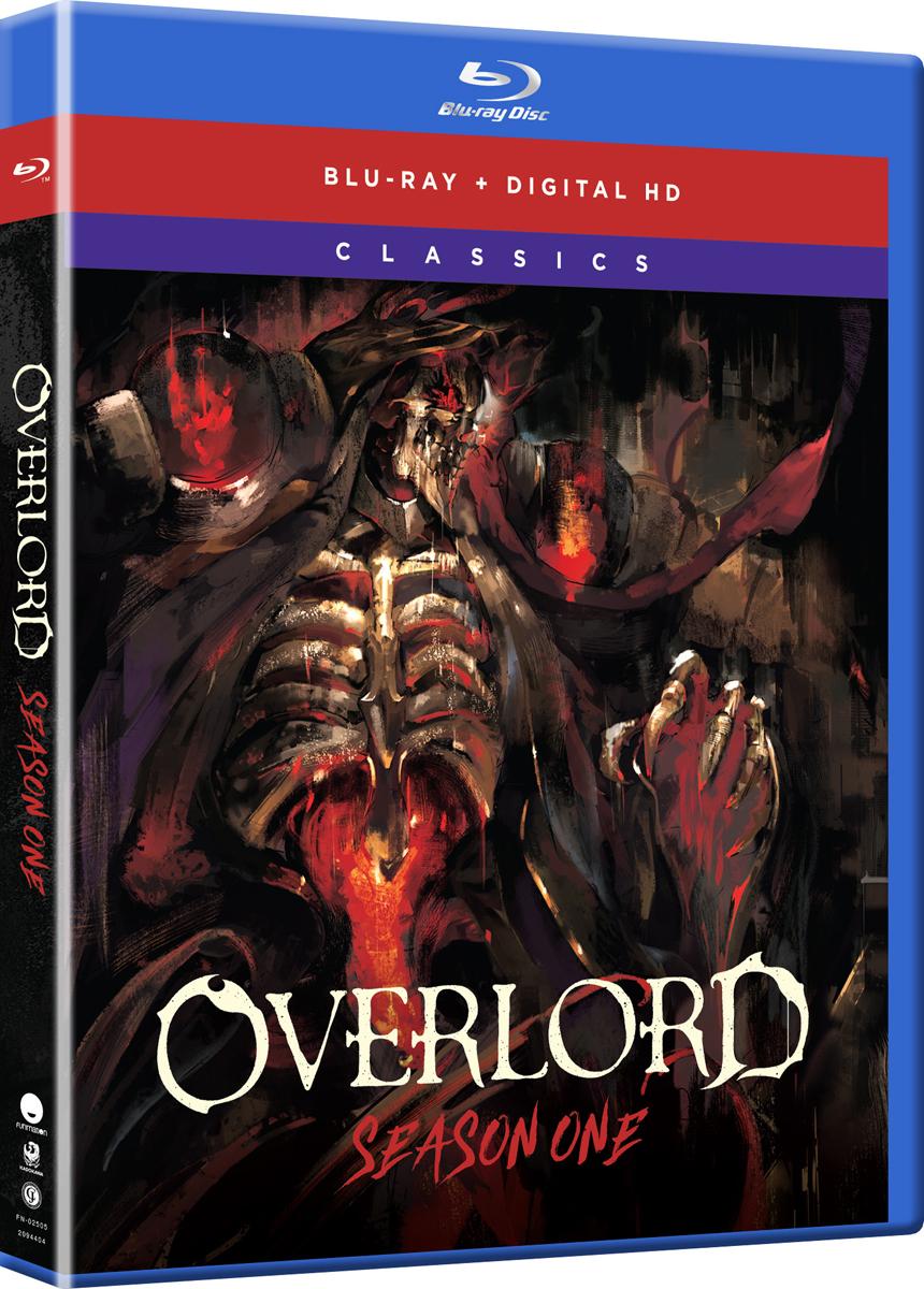 Overlord Season 1 Classics Blu-ray 704400025051