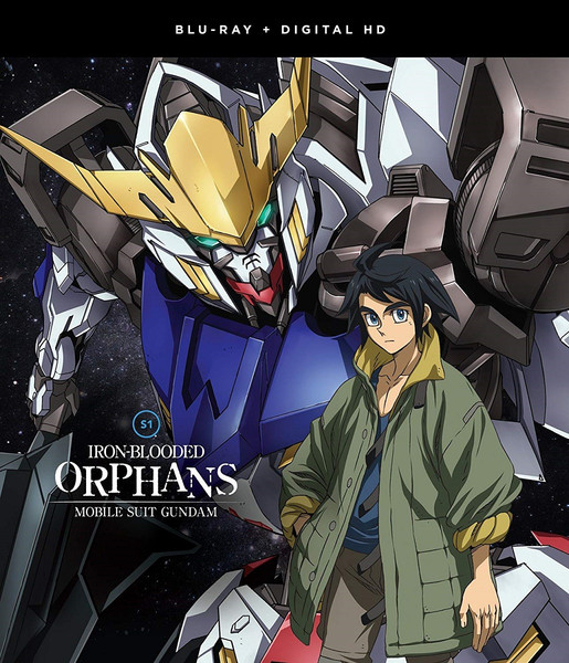 Mobile Suit Gundam Iron-Blooded Orphans Season 1 Complete Collection Blu-ray