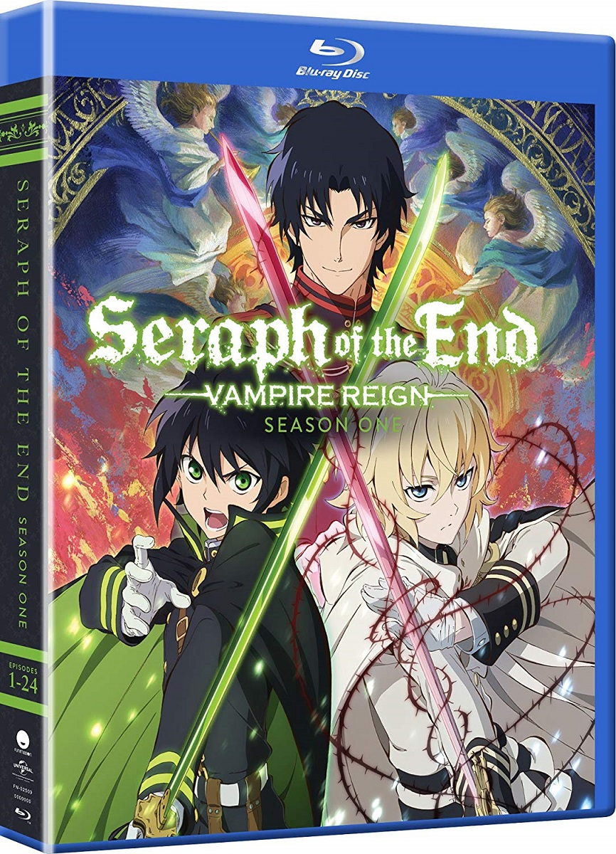 Seraph of the End Vampire Reign Season 1 Complete Collection Blu-ray 704400025099