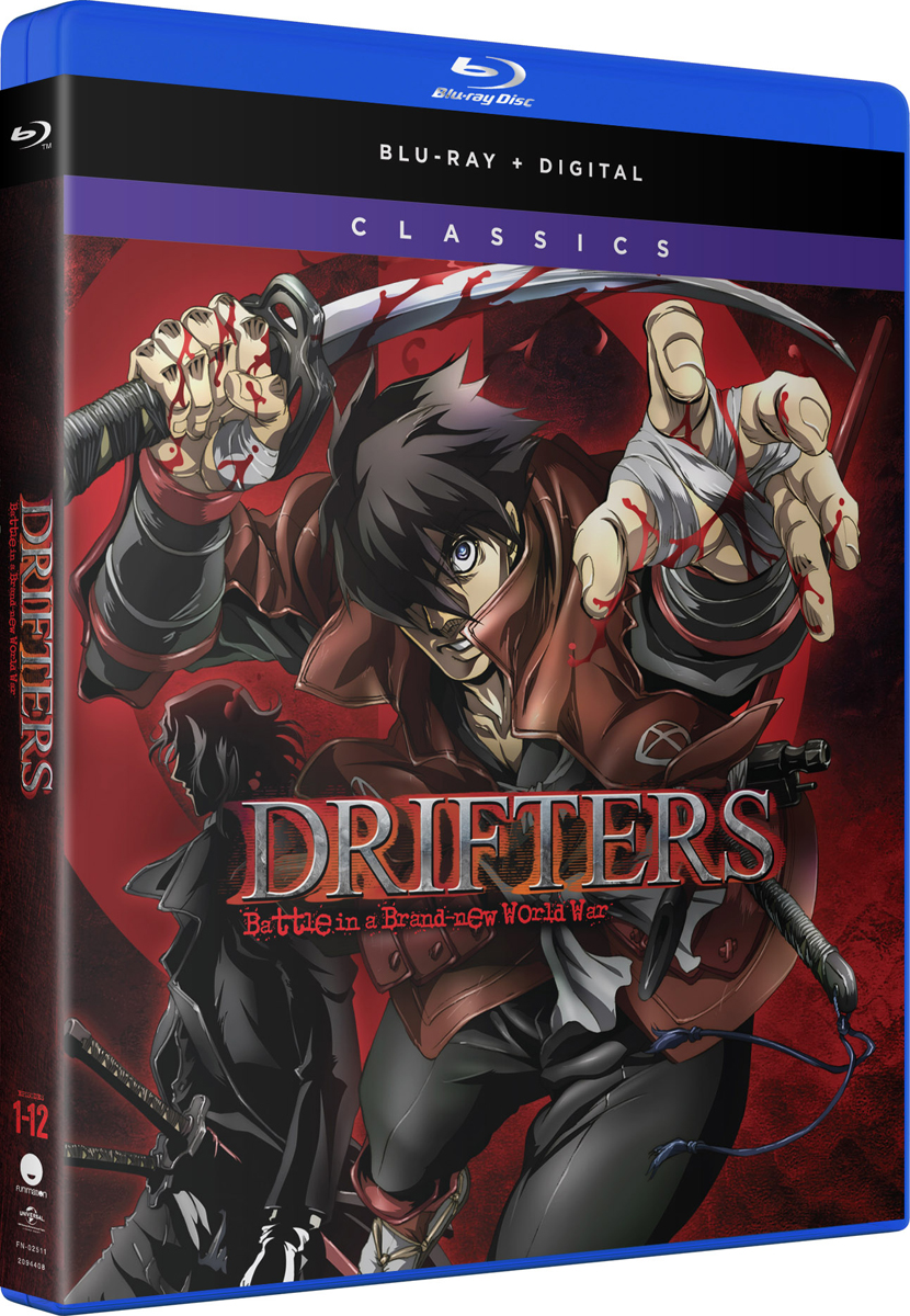 Drifters Complete Series Classics Blu-ray 704400025112