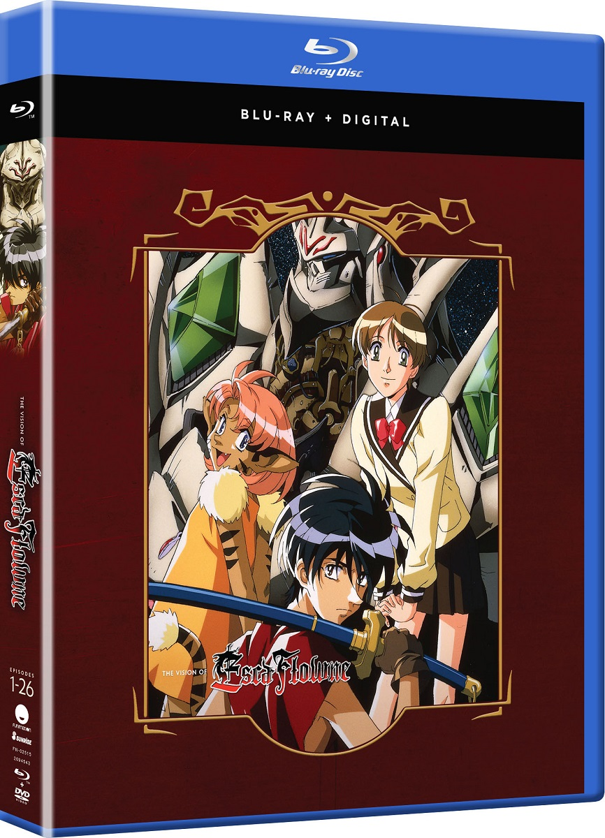 The Vision of Escaflowne Complete Series Blu-ray 704400025150