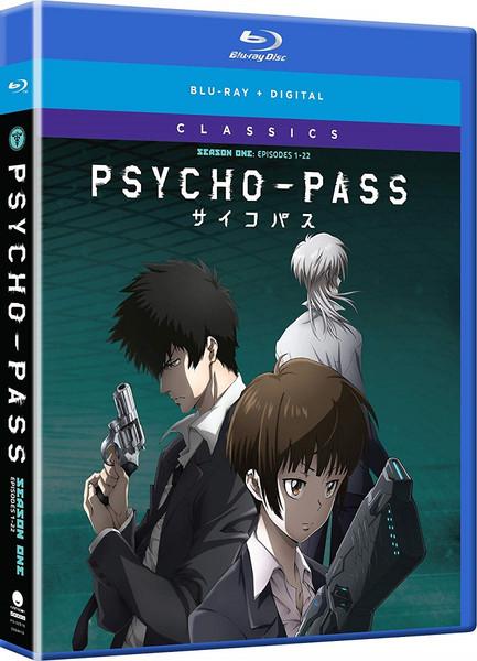 PSYCHO-PASS Season 1 Classics Blu-ray