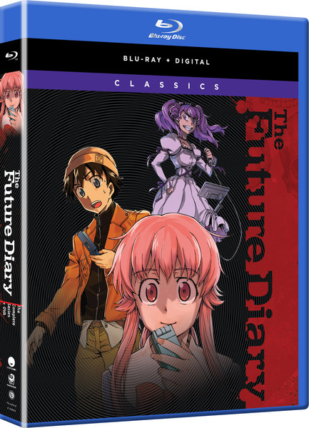 The Future Diary Complete Series + OVA Classics Blu-ray