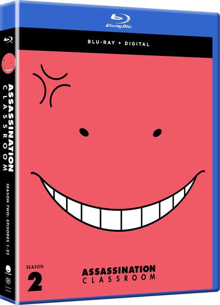 Assassination Classroom Season 2 Blu-ray