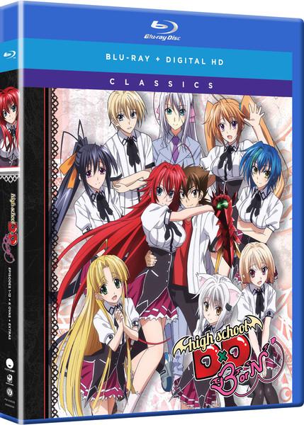 High School DxD BorN Season 3 Classics Blu-ray