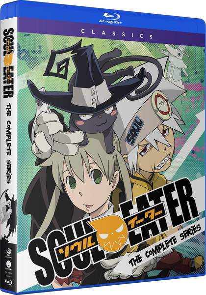 Soul Eater Complete Series Classics Blu-ray