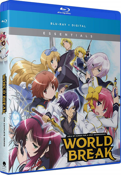 World Break Aria of Curse for a Holy Swordsman Essentials Blu-ray