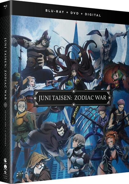 JUNI TAISEN ZODIAC WAR Season 1 Blu-ray/DVD