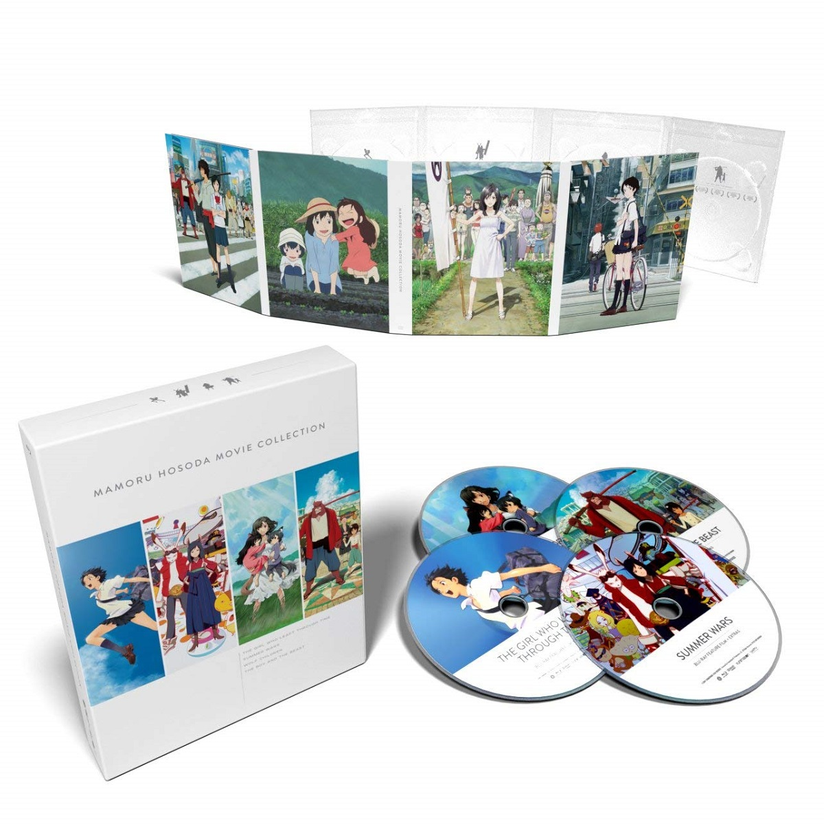 Mamoru Hosoda Movie Collection Blu-ray