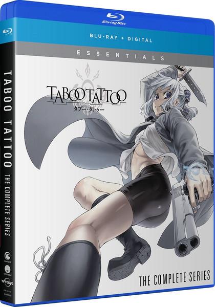Taboo Tattoo Essentials Blu-ray