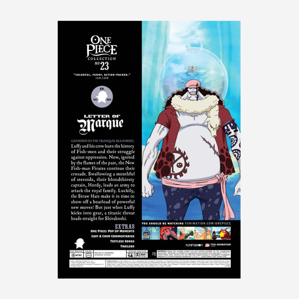One Piece Collection 23 DVD Uncut