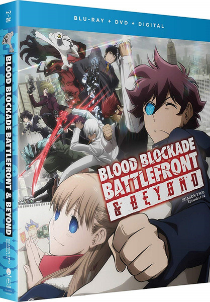 Blood Blockade Battlefront and Beyond Blu-ray/DVD
