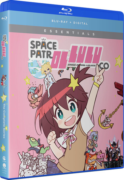 Space Patrol Luluco Essentials Blu-ray