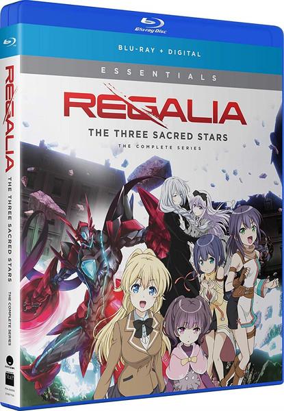 Regalia The Three Sacred Stars Essentials Blu-ray