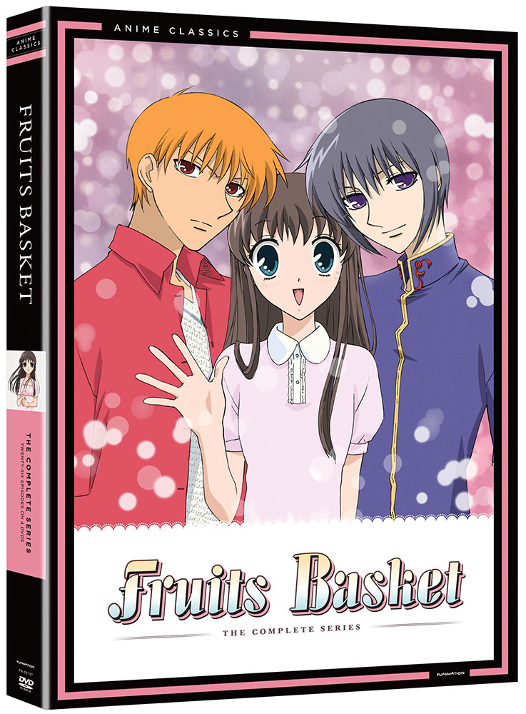 Fruits Basket DVD Anime Classics