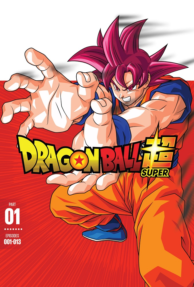 Dragon Ball Super Part 1 DVD 704400037955