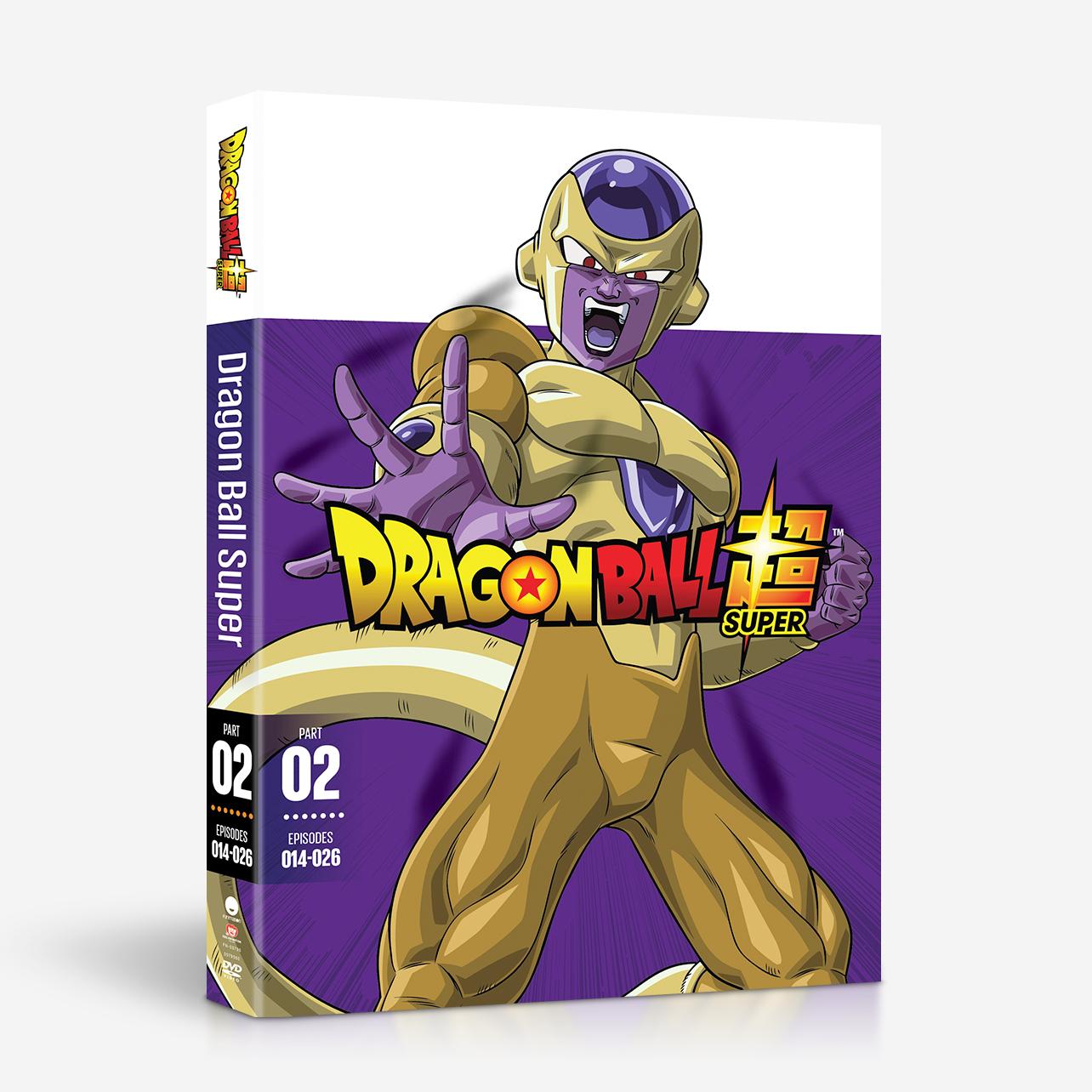 Dragon Ball Super Part 2 DVD 704400037962