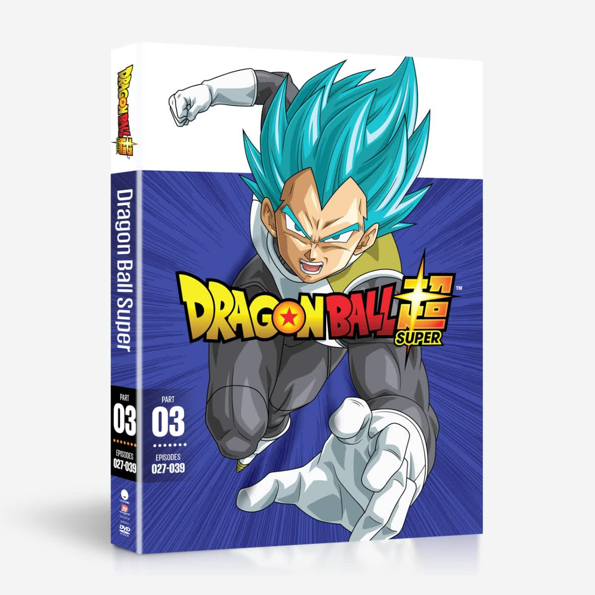 Dragon Ball Super Part 3 DVD 704400037986