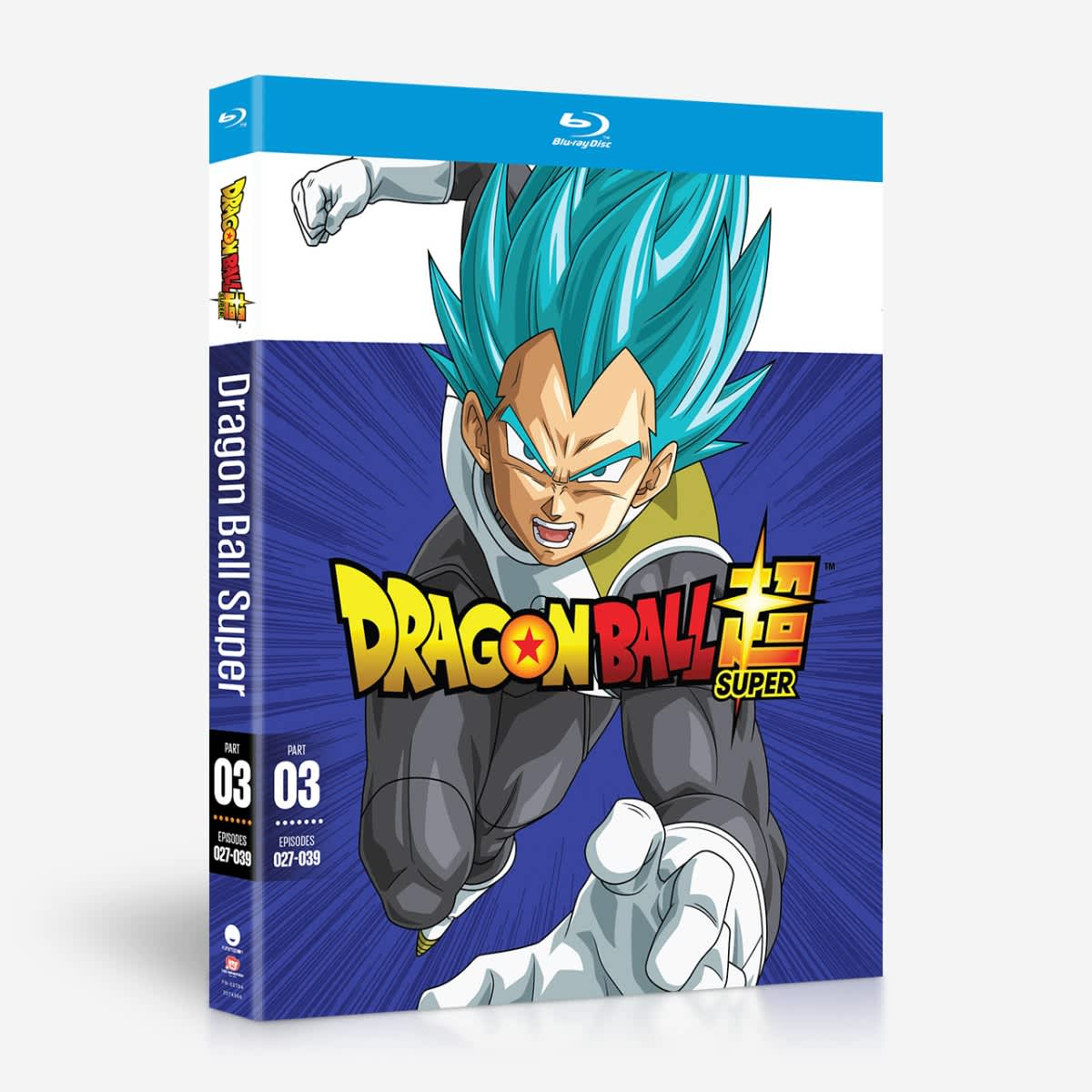 Dragon Ball Super Part 3 Blu-ray 704400037993