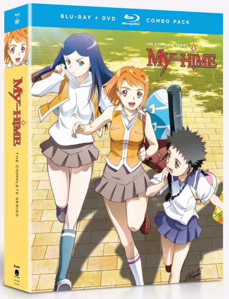 My-Hime Complete Series Blu-ray/DVD
