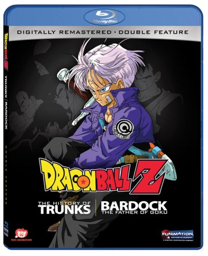Dragon Ball Z Bardock/Trunks Double Feature Blu-ray 704400038570