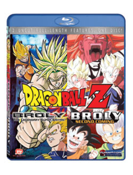 Dragon Ball Z Movie Broly Double Feature Blu-ray (Movies 8,10)
