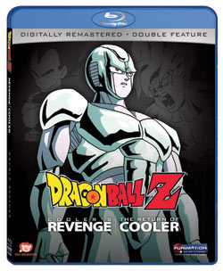 Dragon Ball Z Movies 5-6 Cooler's Revenge/Return of Cooler Blu-ray 704400038655