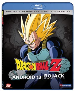 Dragon Ball Z Movies 7&9: Super Android 13/Bojack Unbound Blu-ray 704400038662