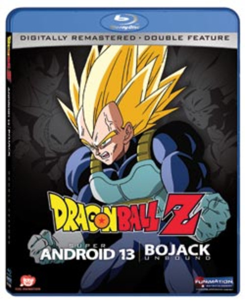 Dragon Ball Z Movies 7&9: Super Android 13/Bojack Unbound Blu-ray