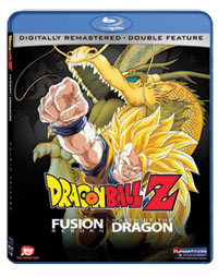 Dragon Ball Z Movies 12-13 Fusion Reborn/Wrath of the Dragon Blu-ray 704400038686