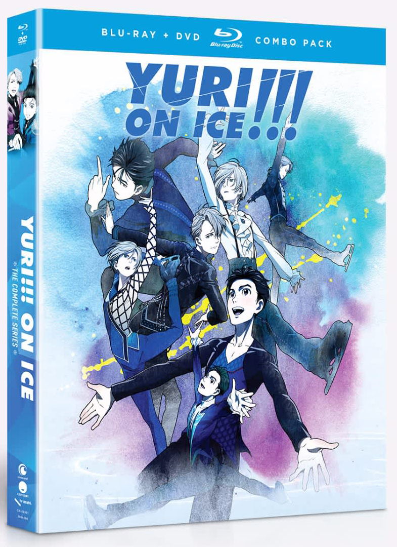 Yuri!!! on ICE Blu-ray/DVD 704400039218