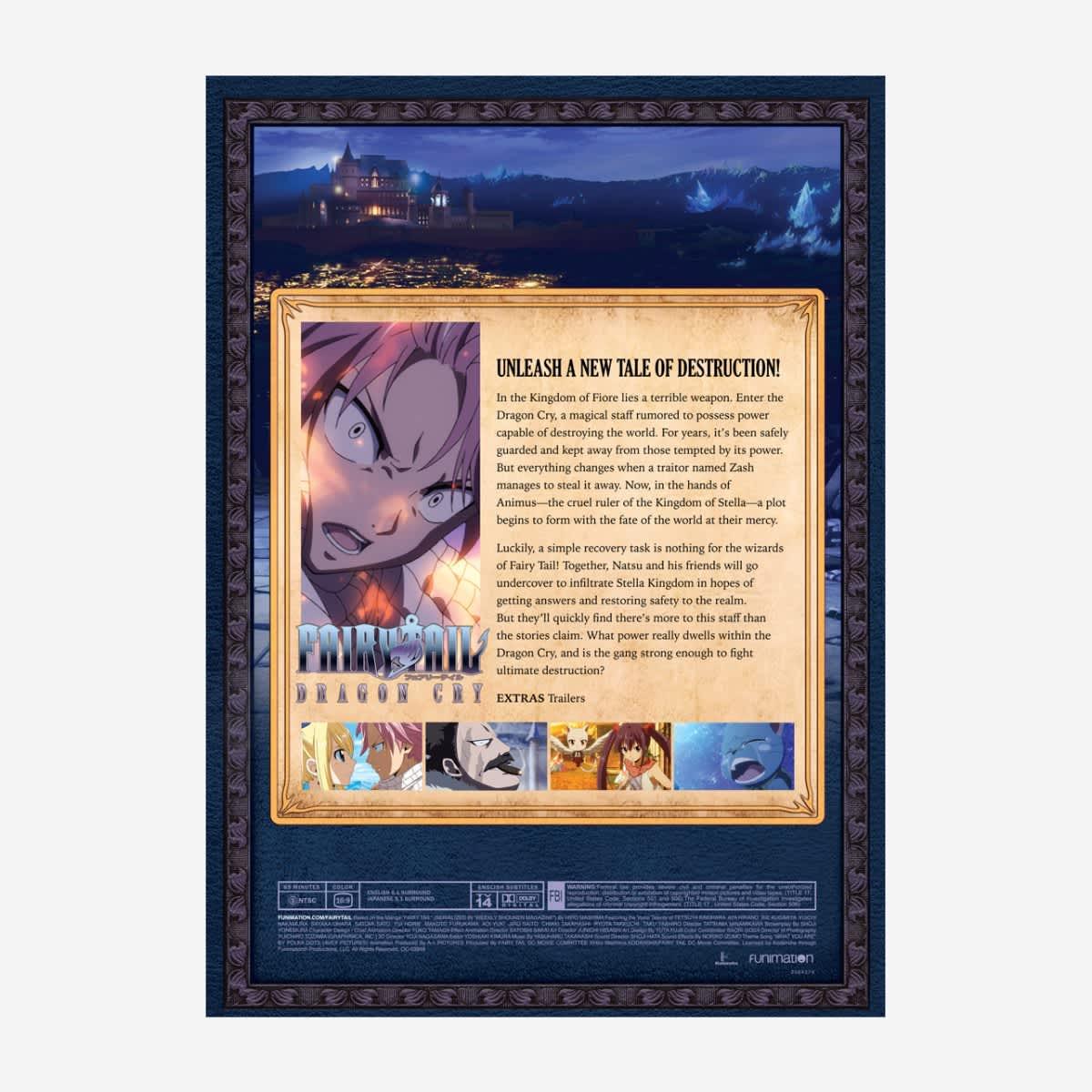Fairy Tail Dragon Cry DVD
