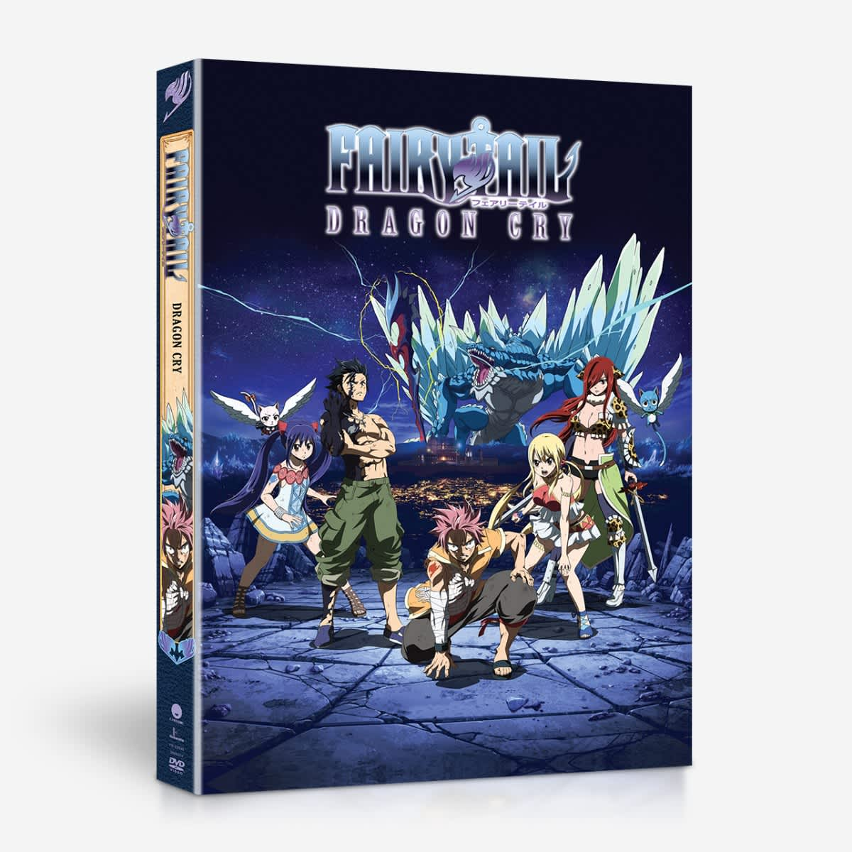Fairy Tail Dragon Cry DVD