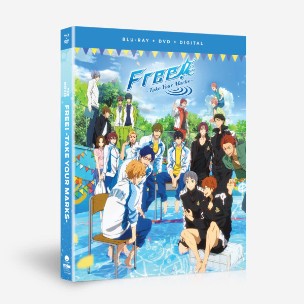Free! Take Your Marks the Movie Blu-ray/DVD