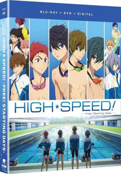High Speed! Free! Starting Days the Movie Blu-ray/DVD