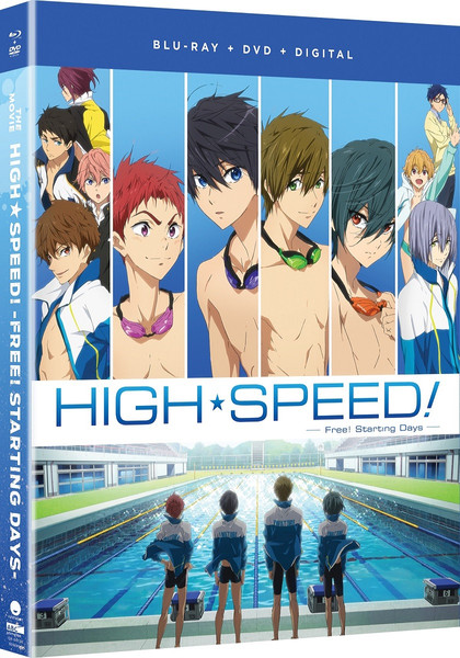 High Speed! Free! Starting Days the Movie Blu-ray/DVD