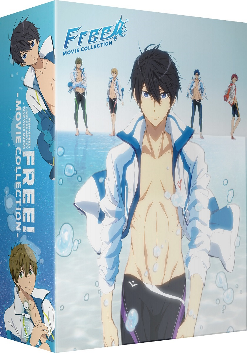 Free! Movie Collection Limited Edition Box Set Blu-ray/DVD